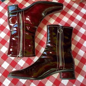 AQUATALIA BY MARVIN K. Double Zip Boots, 7.5